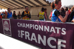 Championnat de France-Handisport Cross-country. L'AFNP-Handisport dans le top 10.