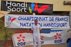 Juin 2013 , JP Plançon devient Champion de France handisport du 200m brasse. L'AFNP à l'honneur...