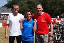 Triathlon de Mesquer 2014. Une belle équipe pour une belle association...